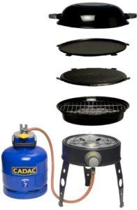 Gasgrill Camping - Cadac Grill Safari Chef, Mehrfarbig