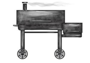 BBQ Smoker zaubern leckeres Fleisch